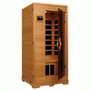 Better Life 77-in H x 36-in W x 36-in D Hemlock Fir Wood Indoor Sauna