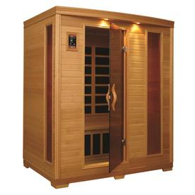 Better Life 77-in H x 64-in W x 64-in D Hemlock Fir Wood Indoor Sauna