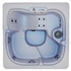 QCA Spas 5-Person Square Hot Tub