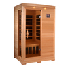 Better Life 77-in H x 48-in W x 42-in D Hemlock Fir Wood Indoor Sauna