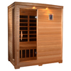 Better Life 77-in H x 61-in W x 44-in D Hemlock Fir Wood Indoor Sauna