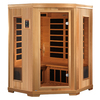 Better Life 77-in H x 53-in W x 53-in D Hemlock Fir Wood Indoor Sauna