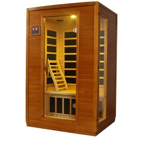 Better Life 75-in H x 47-in W x 41-in D Hemlock Fir Wood Indoor Sauna