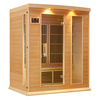 Better Life 75-in H x 64-in W x 44-in D Hemlock Fir Wood Indoor Sauna