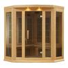 Better Life 75-in H x 60-in W x 60-in D Hemlock Fir Wood Indoor Sauna