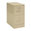 edsal Sandusky Vertical Files Putty 2-Drawer Filing Cabinet