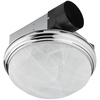 Utilitech 3.5-Sone 70-CFM Chrome Bathroom Fan Candelabra None