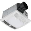 Utilitech 1.5-Sone 90-CFM White Bathroom Fan with Light