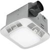 Utilitech 1.2-Sone 110-CFM White Bathroom Fan with Light