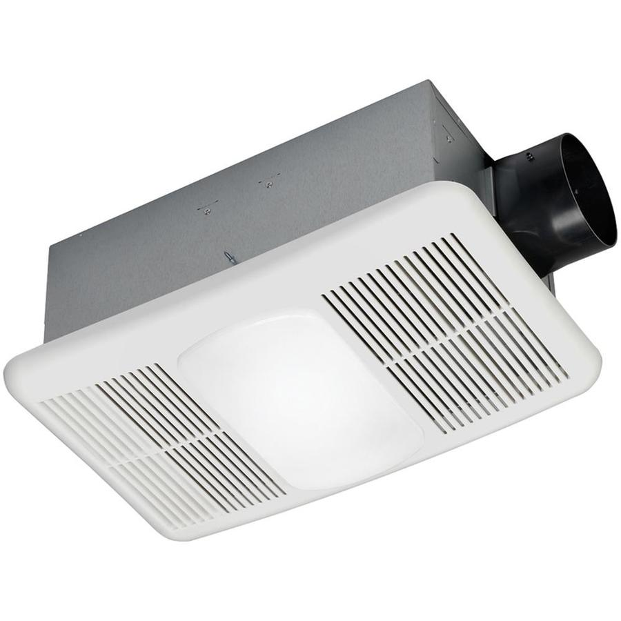 ... Sone 80-CFM White Bathroom Fan with Heater and Light at Lowes.com