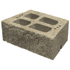 allen + roth 16-in L x 6-in H Tan Verazzo Retaining Wall Block (Actuals 16-in L x 6-in H)