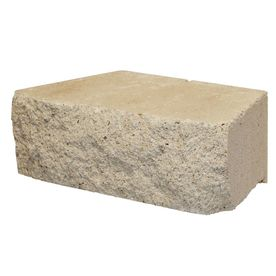Limestone Basic Concrete Retaining Wall Block (Common: 12-in x 4-in; Actual: 12-in x 4-in)