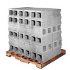 Standard Cored Concrete Block (Common: 8-in x 8-in x 16-in; Actual: 7.625-in x 7.625-in x 15.625-in)