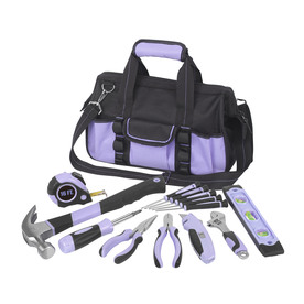 Household Tool Set with Soft Case (18-Piece)