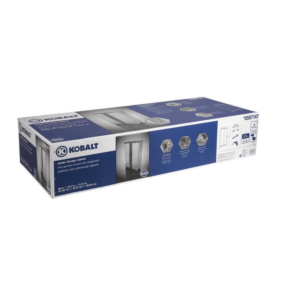 Kobalt 48 In W X 72 375 In H X 20 5 In D Steel Freestanding Or
