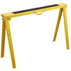 Blue Hawk Folding Steel Adjustable Sawhorse