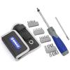 Kobalt 25-Piece 9-1/4-in Ratcheting Multi-Bit Screwdriver