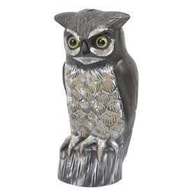 Garden Plus 14.17-in H Bird Repelling Owl Statue
