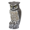 Garden Plus 14.57-in H 6.5-in L Owl Statue