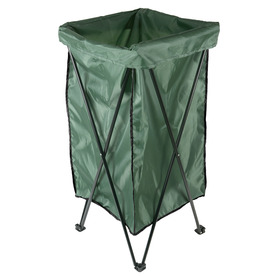 Garden Treasures Reusable Lawn and Leaf Bag 35-in x 18-in Trash Bag Stand Bag Included