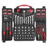 Task Force 140-Piece Standard (Sae) and Metric Combination Mechanic's Tool Set with Case Case Included