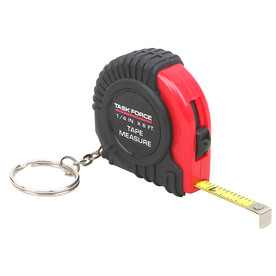 Project Source 6-ft SAE Tape Measure Keychain