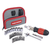 Task Force 37-Piece Socket and Screwdriver Set