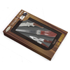 Sheffield Manufacturing 3-Piece Stainless Steel and Wood Handle Gift Set