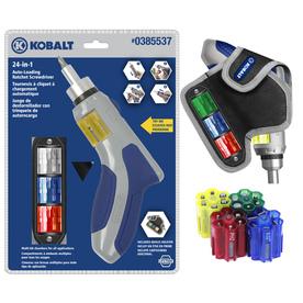 Kobalt Auto-Loading Ratchet Screwdriver Set