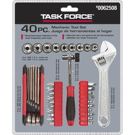 Task Force Task Force 40pc Mechanic Tool Set