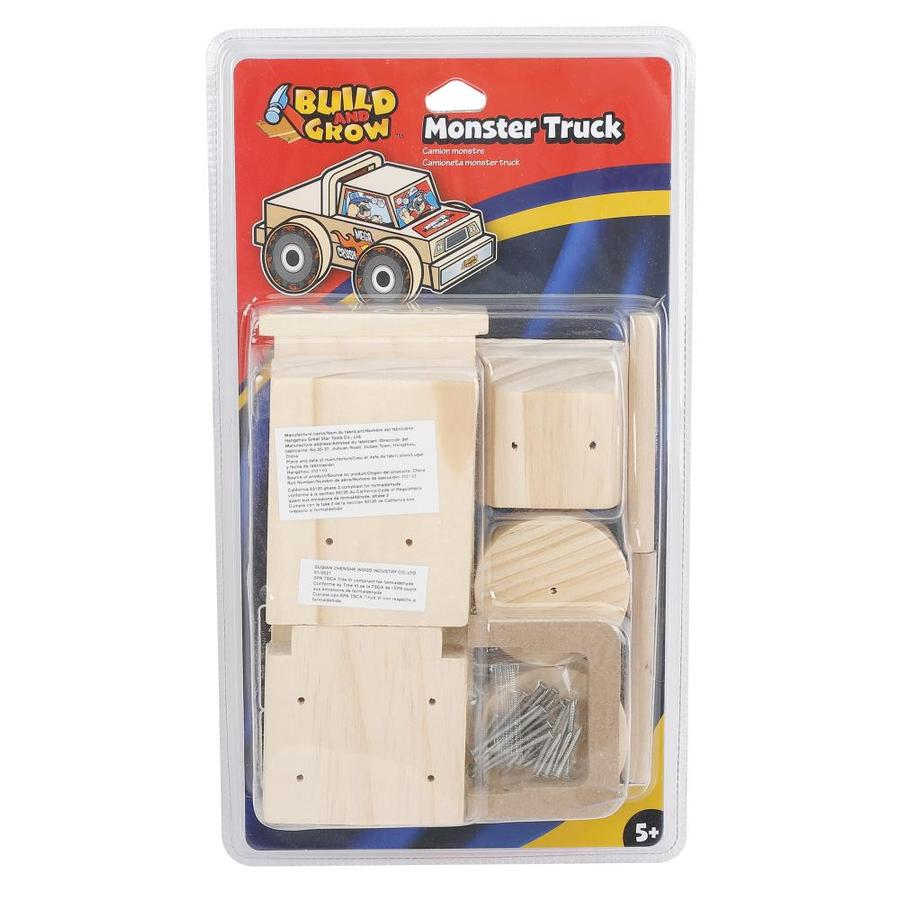 ... Grow Kid's Beginner Woodworking Project Monster Truck Kit at Lowes.com