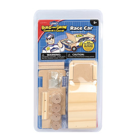 Build and Grow Kid's Beginner Woodworking Project Jimmie Johnson Race Car Kit