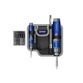 Kobalt 32-Piece Double-Drive Screwdriver Set with Bonus Pouch and Extension Bar