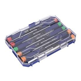 shop kobalt 10 piece precision screwdriver set with case at. Black Bedroom Furniture Sets. Home Design Ideas