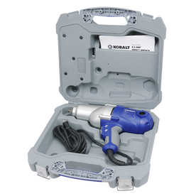 """Kobalt 120-Volt 1/2"""" Corded Impact Wrench with 12-Piece Socket Set"""
