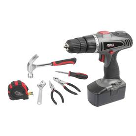 Task Force 18-Volt 3/8-in Cordless Nickel Cadium Drill/Driver with Case