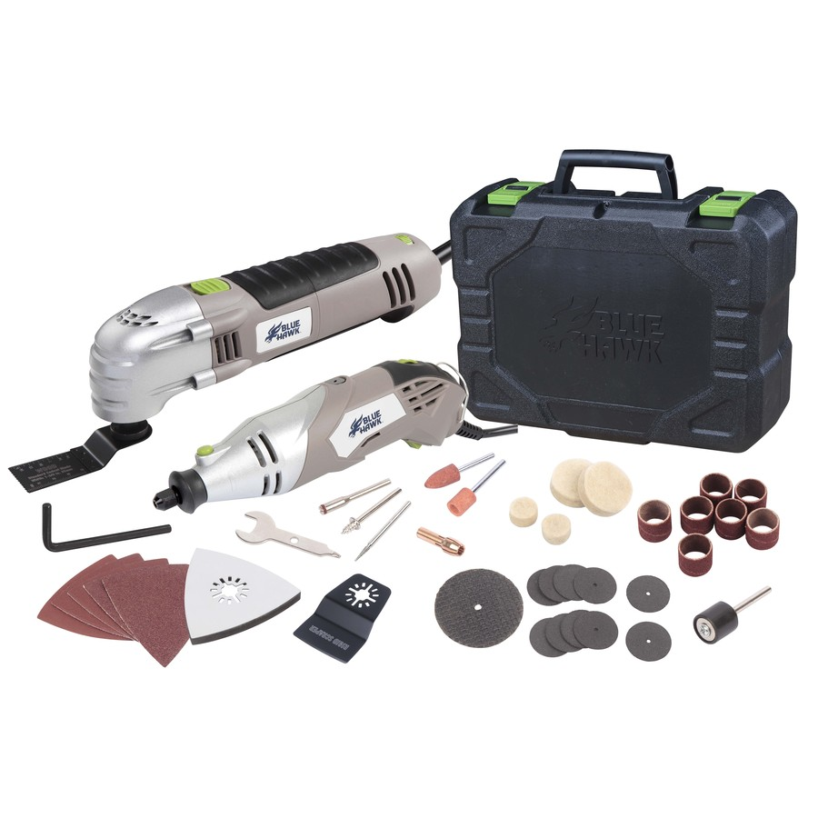 to make it better shop blue hawk 40 piece 2 5 amp oscillating tool kit