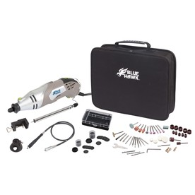 Blue Hawk 130-Piece Multipurpose Rotary Tool Kit
