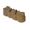 Tan/Charcoal Alameda Edging Stone (Common: 4-in x 12-in; Actual: 3.6-in H x 12-in L)