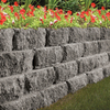 Gray Basic Concrete Retaining Wall Block (Common: 12-in x 4-in; Actual: 12-in x 4-in)