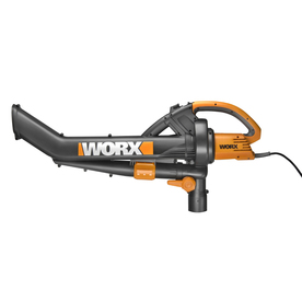 WORX Trivac 12-Amp Heavy-Duty Corded Electric Blower