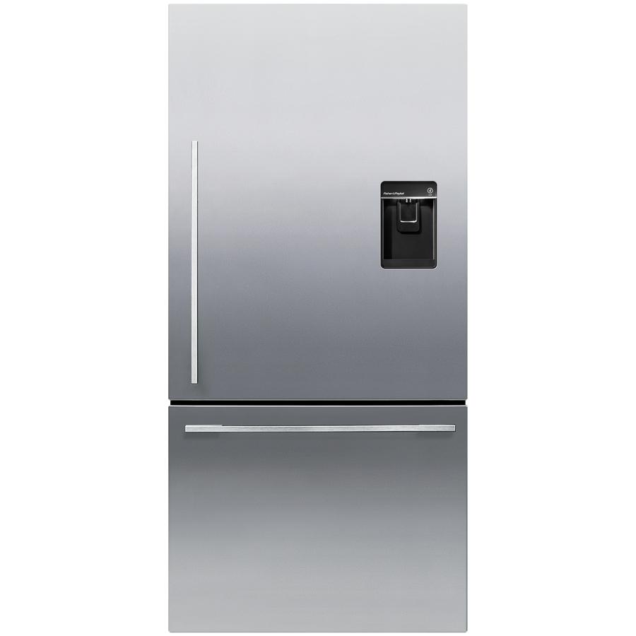 Charmant Single Door Bottom Freezer Refrigerator With Ice Maker Images