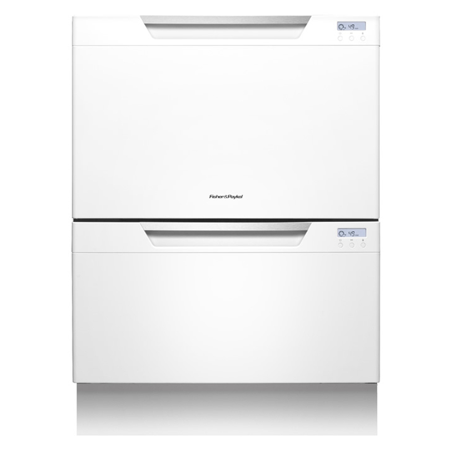 Shop fisher paykel 51 5 decibel double drawer dishwasher white energy star common 24 in - Fisher paykel dishwasher drawer reviews ...