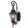 35.5-in H Bark/Gold Outdoor Wall Light