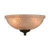 3-Light Ebony Incandescent Ceiling Fan Light Kit