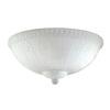 3-Light White Incandescent Ceiling Fan Light Kit
