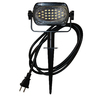 Holiday Living 3.26-in H Black LED Post Light