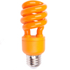 13-Watt (60W Equivalent) 3,000K Medium (E-26) Base Orange Decorative CFL Bulb