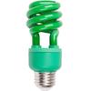 13-Watt (60W Equivalent) 3,000K Medium (E-26) Base Green Decorative CFL Bulb