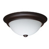 Project Source 13-in W LED Ceiling Flush Mount